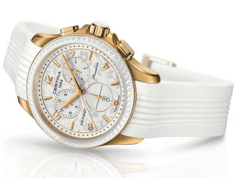 Certina DS First Lady Ceramic Chrono- dámske hodinky-eshop a72a260605