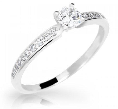 Zásnubný prsteň DF 2523b + darčekové balenie zdarma 0ca3a4440fd