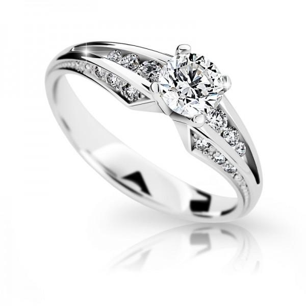 Zásnubný prsteň DF 2103b + darčekové balenie zdarma 08017cf10ba