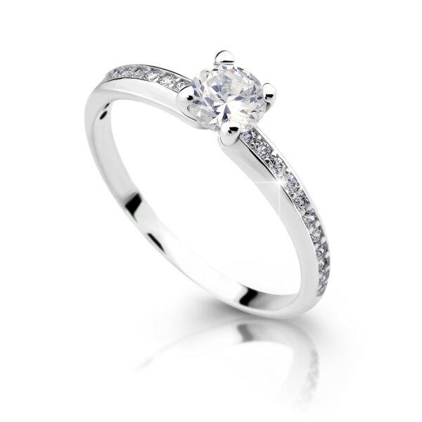 Zásnubný prsteň DF 2354b + darčekové balenie zdarma 86057922eb2