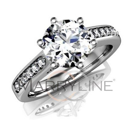 Zásnubný prsteň R047b + darčekové balenie zdarma d65db026855