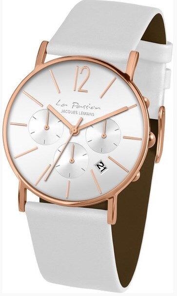 JACQUES LEMANS LP-122B dámske hodinky s chronografmi 7c2895eaa75