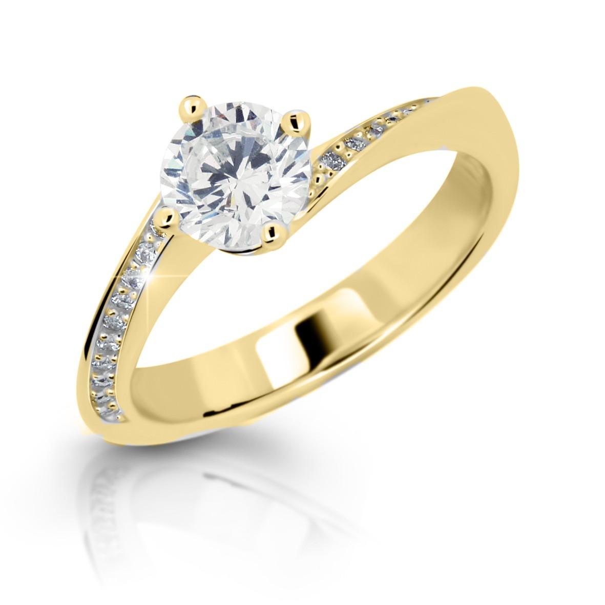 Zásnubný prsteň DF 2922 ž + darčekové balenie zdarma e7600c9f2a3