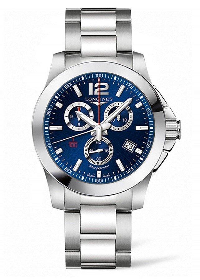 Longines Conquest L3.800.4.96.6 pánske hodinky s oceľovým remienkom ... 7e42111b74d