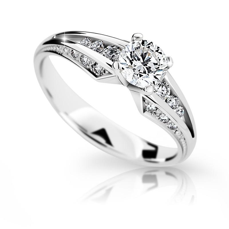Zásnubný prsteň DF 2103b + darčekové balenie zdarma e87ac9f560a