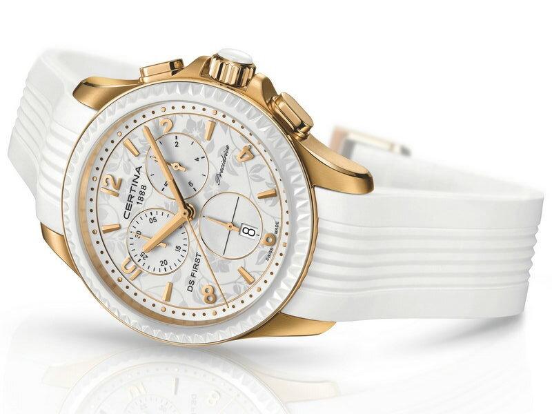Certina DS First Lady Ceramic Chrono- dámske hodinky-eshop fbf35aea66