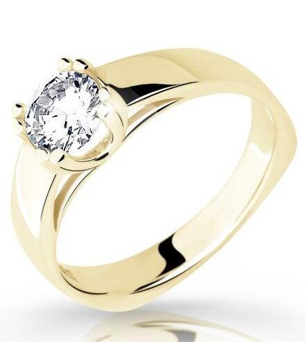 af9d91090 Zlatý zásnubný prsteň DF 1888 ž 0,350ct + darčekové balenie zdarma