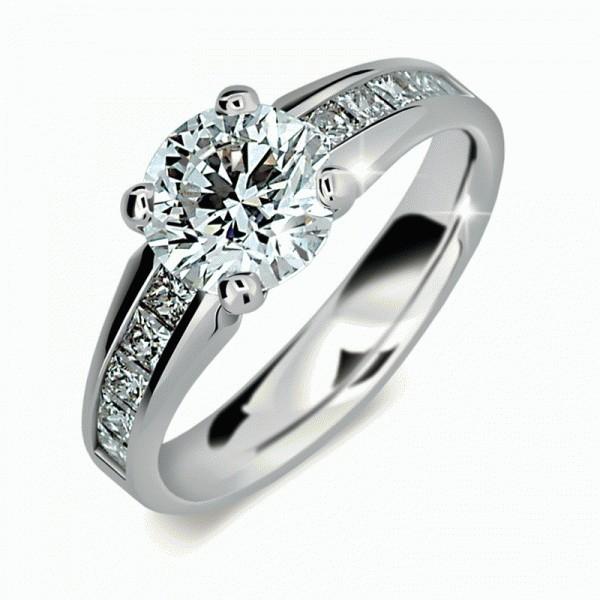 ff2003e10 Zásnubný prsteň DF 2088b + darčekové balenie zdarma
