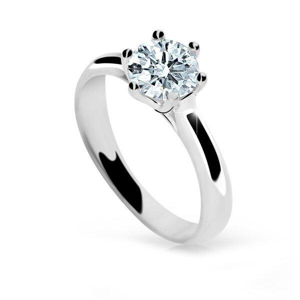 dc1828678 Zlatý zásnubný prsteň s diamantom DF 1885 b 0,66ct + darčekové balenie  zdarma