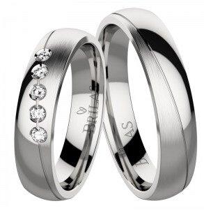 21da04eb4 Bizaku Steel svadobné prstene chirurgickej ocele. Povrchová úprava ...
