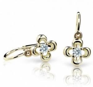 d70c4fe95 Cutie Jewellery detské náušnice kvetinky | kimgold.sk