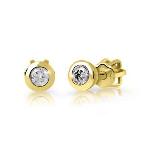 dbd6b7e4d Dámske náušnice DF 2295 s diamantom 0,50ct