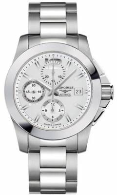Longines Conquest Automatic Chronograph L3.662.4.76.6 ( L36624766 ) puzdro 41mm