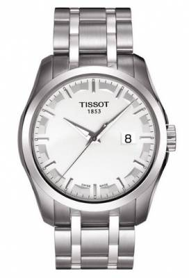 6bcd2357489 Tissot Couturier Quartz Gent T035.410.11.031.00 ( T0354101103100 ) + DARČEK  ZDARMA