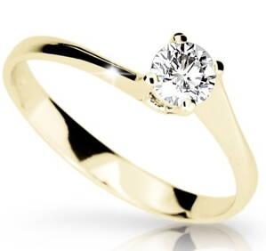 Zásnubný prsteň s briliantom DF 1957 ž 0 606dd822c64