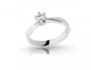 Zásnubný prsteň DF 2283b + darčekové balenie zdarma d966bca7e28
