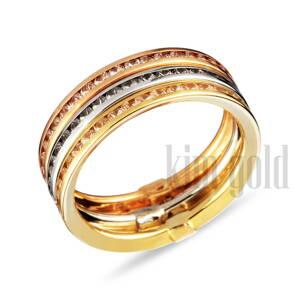 1b4fcab4f Snubné prstene s briliantom, zásnubné prstene z bieleho zlata s ...