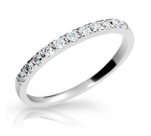 Zásnubný prsteň DF 1670b + darčekové balenie zdarma 60068ff481b