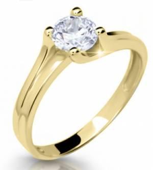 Zásnubný prsteň DF 2530 ž + darčekové balenie zdarma f9ae860f260