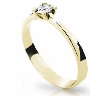 Zásnubný prsteň DF 1905ž + darčekové balenie zdarma 61b20ea92a6
